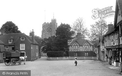 Chilham, The Square 1903
