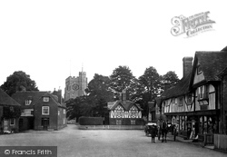Chilham, The Square 1913