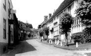 Chilham, the Street c1955