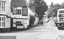 Chilham, The Woolpack Inn c.1955