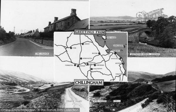 Photo of Chillingham, Composite c.1955