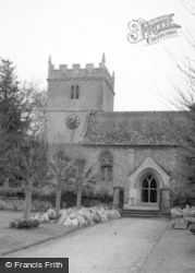 Chilton Foliat, Church 1958