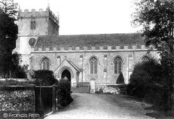 Chilton Foliat, St Mary's Church 1908
