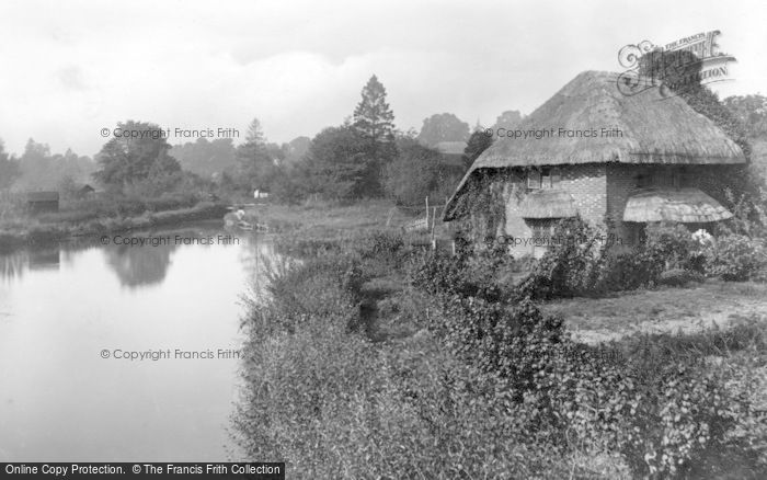 Photo of Chilton Foliat, View From The Bridge 1908