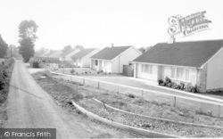 Church Lane c.1960, Chilton Polden