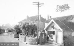 Post Office c.1965, Chilton Polden