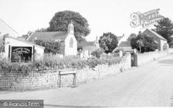 St Edward's Church c.1960, Chilton Polden