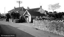 The Post Office c.1965, Chilton Polden