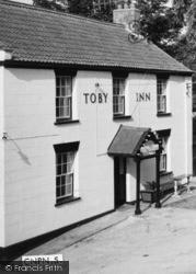 The Toby Inn, Entrance  c.1960, Chilton Polden