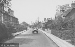 Chilworth, New Road 1927