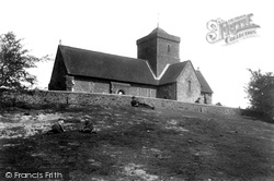 Chilworth, St Martha's Church 1906