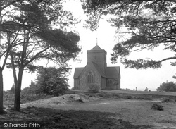 Chilworth, St Martha's Church 1927