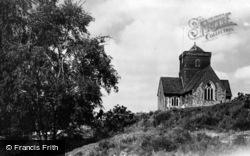 St Martha's Church c.1955, Chilworth
