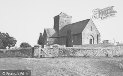 Chilworth, St Martha's Church c.1955
