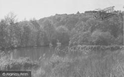 St Martha's From Postford Pond 1929, Chilworth