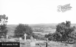 Chilworth, View From The South Door c.1950
