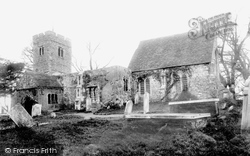 Chingford, All Saints' Church 1906