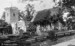 Chingford, All Saints Old Church 1904