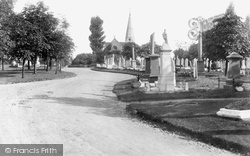 Chingford, Mount Cemetery 1906