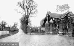 Chingford, Mount, Cemetery Gate 1906