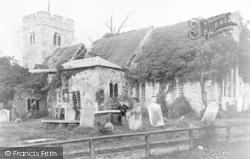 Chingford, Old Church c.1900