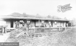 Chingford, Old Goods Station, King's Road c.1880