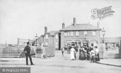 Chingford, Station c.1900