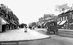 Chingford, Station Road 1907