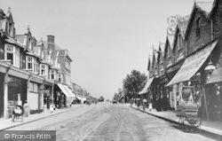 Chingford, Station Road c.1900