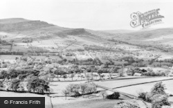 From Eccles Pike c.1960, Chinley