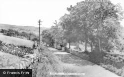 Stubbins Lane c.1960, Chinley