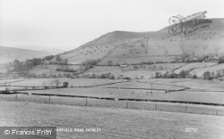 View From Hayfield Road c.1960, Chinley