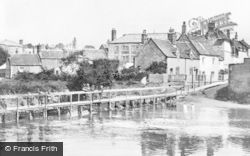 Chippenham, Back Avon Bridge c.1905