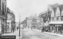Chippenham, High Street c.1907