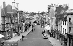 Chippenham, High Street c.1950
