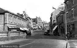 Chippenham, High Street c.1955