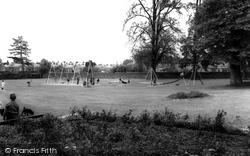 Chippenham, John Coles Park c.1960
