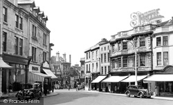 Chippenham, Market Place Looking Towards High Street c.1955