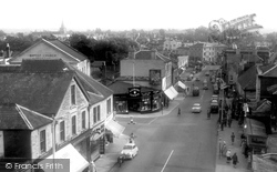 Chippenham, New Road From The Viaduct c.1960