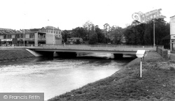 Chippenham, River Avon And Bridge c.1966