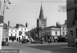 Chippenham, St Andrew's Church c.1950