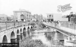 Chippenham, The Bridges c.1960