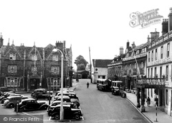 Chippenham, The Market Place c.1955
