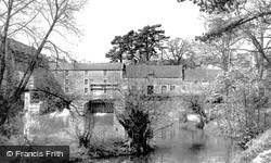 Chippenham, The Old Mill From The Avon c.1955