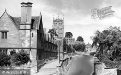 Chipping Campden, Almshouses And Church c.1949