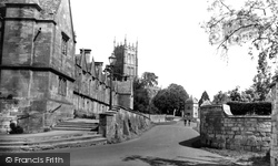 Chipping Campden, Almshouses And St James' Church c.1960