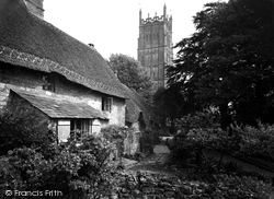 Chipping Campden, Church Cottages c.1955