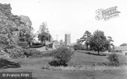 Chipping Campden, Church From Calf Lane c.1960