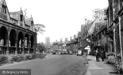 Chipping Campden, High Street 1952