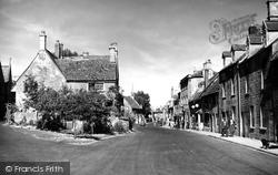Chipping Campden, High Street c.1955